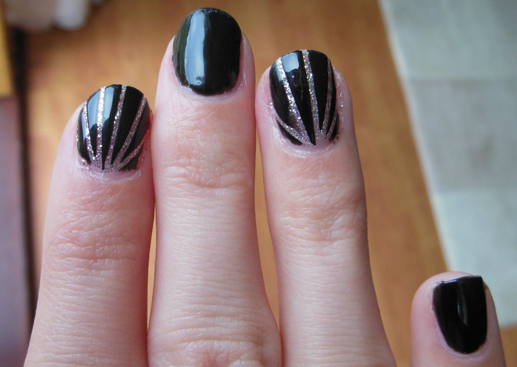25 Beautiful Starburst Nails With Tape 201516