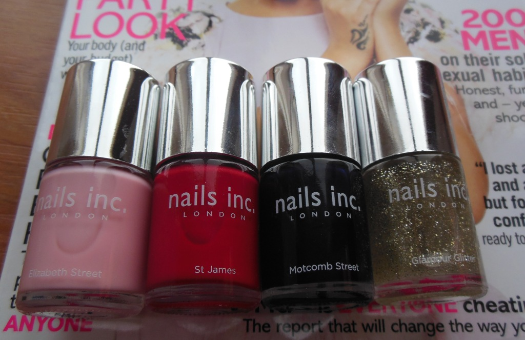 Nails Inc – Free with Glamour Magazine | A Sparkling Finish