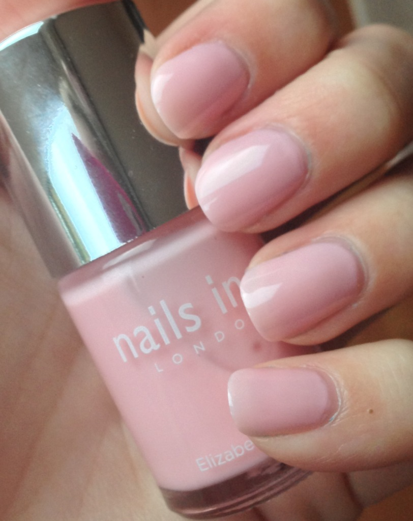 Watch Free Nails Inc polish worth 11 with October Marie Claire video